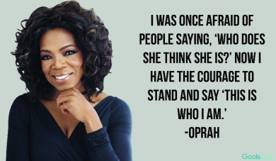 """This is who I am\"" ~Oprah"